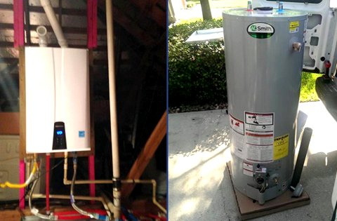 Water Heaters Navien Tankless Water Heaters AO Smith Water Heaters
